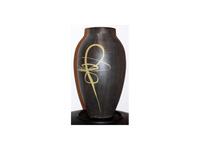 Japán írott váza