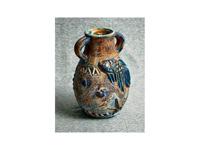 Leguános antik váza