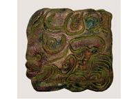 Antikolt táblakép kerámiából