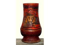Mexikói folklór váza