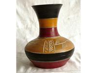 Nagy hasú indián váza