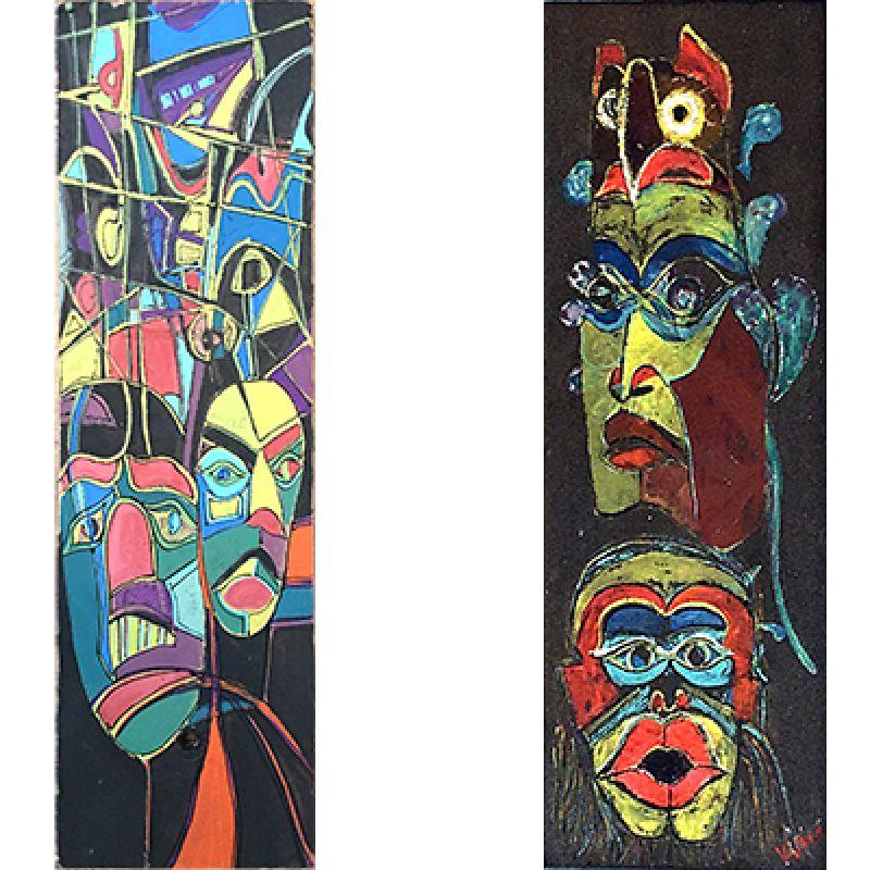 A Irokéz indián maszkok :